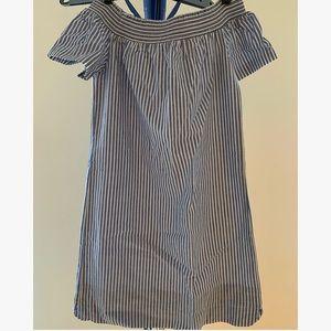 JCrew off-shoulder dress